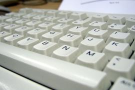 Una tastiera di computer (foto Flickr, utente orangeacid)