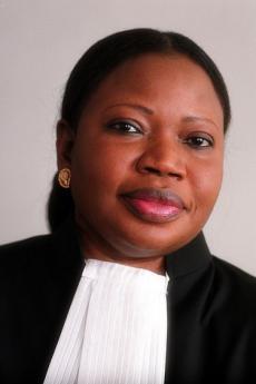 Il magistrato Fatou Bensouda (foto di Max Koot Studio)