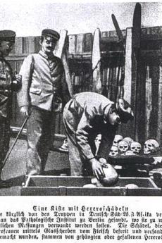 Campo di concentramento per gli herero n. 06 (illustrazione di ezakwantu.com)