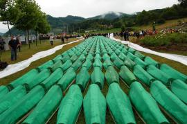 Il memoriale di Srebrenica (foto di Almir Dzanovic)