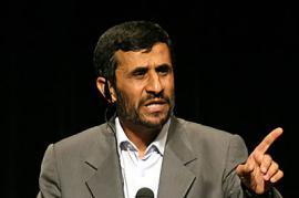 Il dittatore iraniano Ahmadinejad getta un'ombra sui negoziati sulla Siria (foto di Danielle Zaicman)
