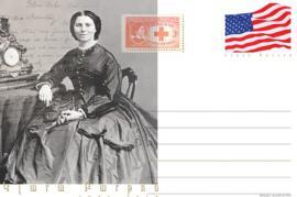 La Barton su una cartolina commemorativa (foto di Museo del genocidio armeno)