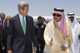 Kerry in Arabia Saudita