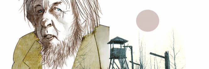 Caricatura del massimo testimone del gulag pubblicata da Il Giornale