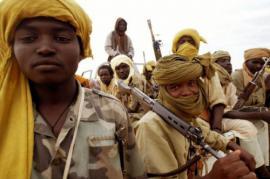 gruppo di ribelli in Darfur