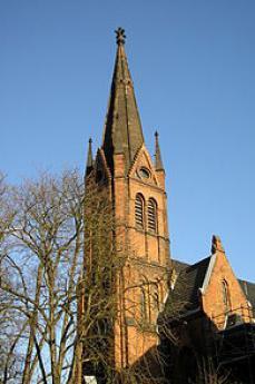 La chiesa dove suonava Goslar (foto di Wikipedia)