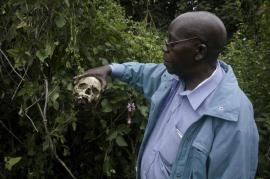 I resti del massacro di Bogoro