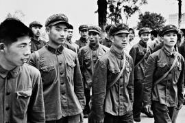 Guardie rosse di Mao (foto di Vittoriano Rastelli)