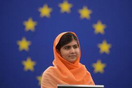 Malala Yousafzai a Strasburgo