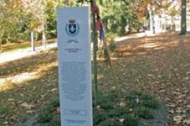 Il Giardino della Memoria (Foto del Comune di Levico Terme)
