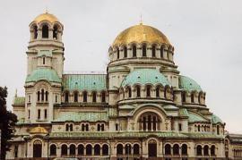 La Cattedrale di Sofia, Bulgaria