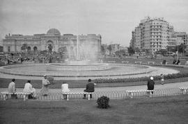 Piazza Tahrir in una foto del 1941