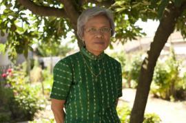 Claire Ly in una foto scattata in Cambogia