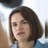 Swiatłana Cichanouska, politica bielorussa