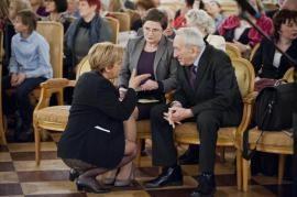Tadeusz Mazowiecki e Annalia Guglielmi