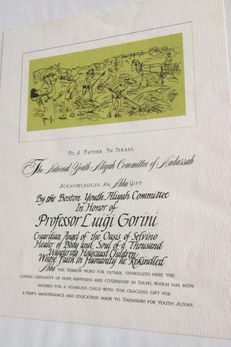 Alcuni pannelli della mostra su Sciesopoli