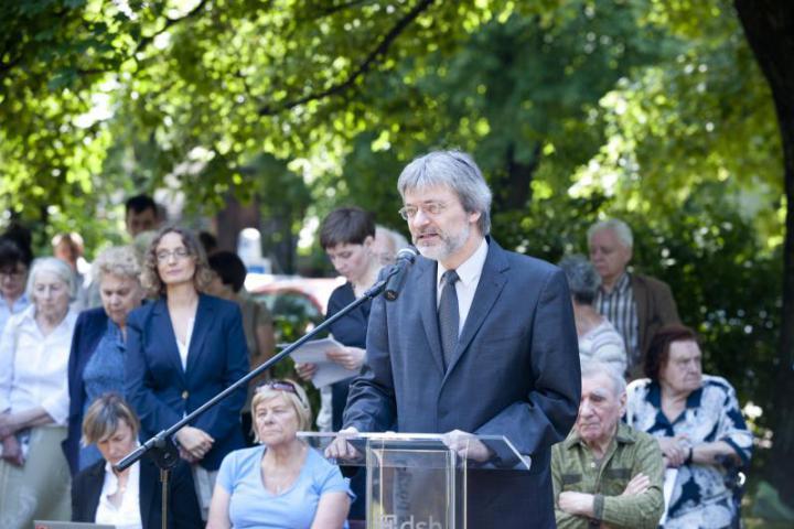 Zbigniew Gluza - Presidente del Comitato per il Giardino dei Giusti e della Fondazione Karta