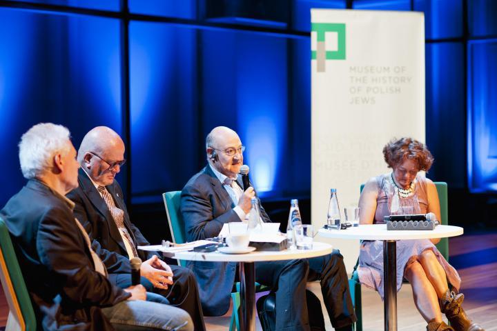 La conferenza al Museo della storia degli ebrei polacchi, 5 giugno