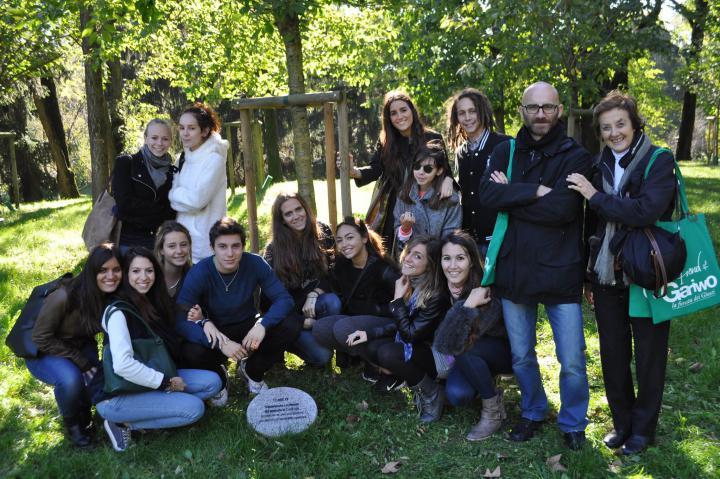 Le visite guidate al Giardino dei Giusti di Milano, novembre