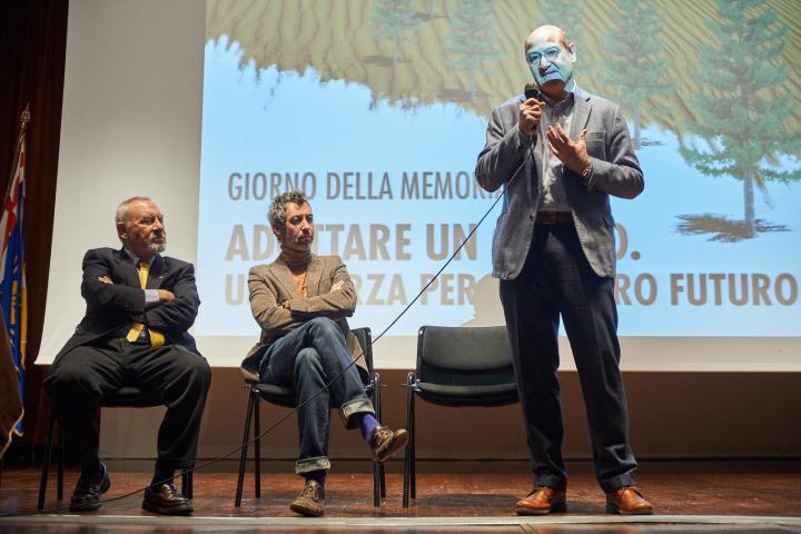 Pietro Kuciukian, Paolo Kessisoglu e Gabriele Nissim