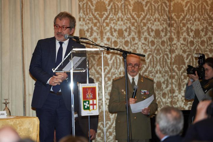 I saluti di Roberto Maroni, governatore Regione Lombardia