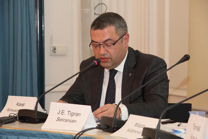 L'ambasciatore armeno J.E. Tigran Seiranian