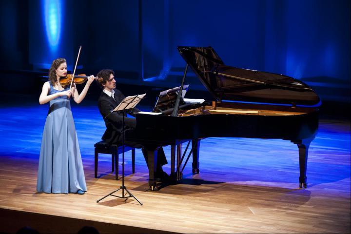 Il duetto italiano di Laura Bortolotto (violino) e Matteo Andri (piano)