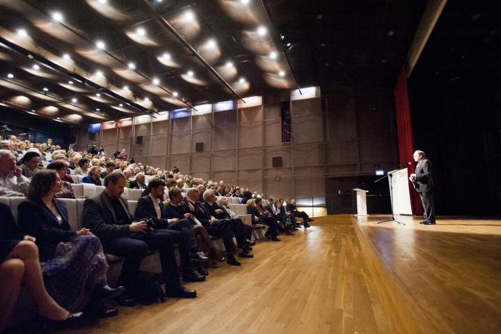 Jerzy Kisielewski presenta il Gala per la Giornata Europea dei Giusti 2015