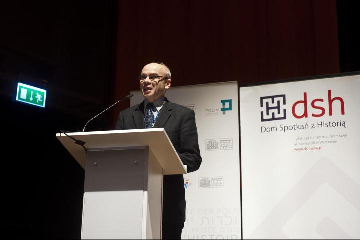 Prof. Dariusz Jan Stola, Istituto di Studi Politici dell'Accademia Polacca delle Scienze