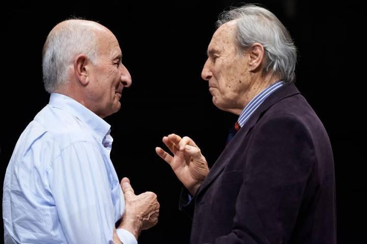 Don Gino Rigoldi e Mischa Wegner