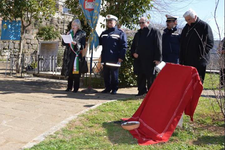 La cerimonia di inaugurazione del Giardino dei Giusti di Segni
