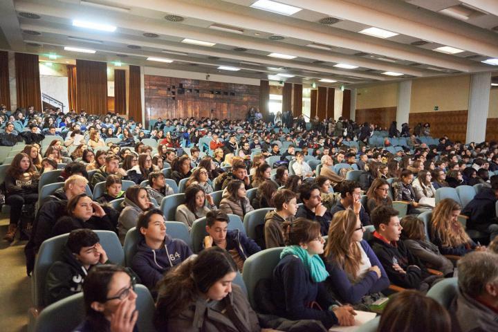 Presenti all'iniziativa oltre cinquecento studenti