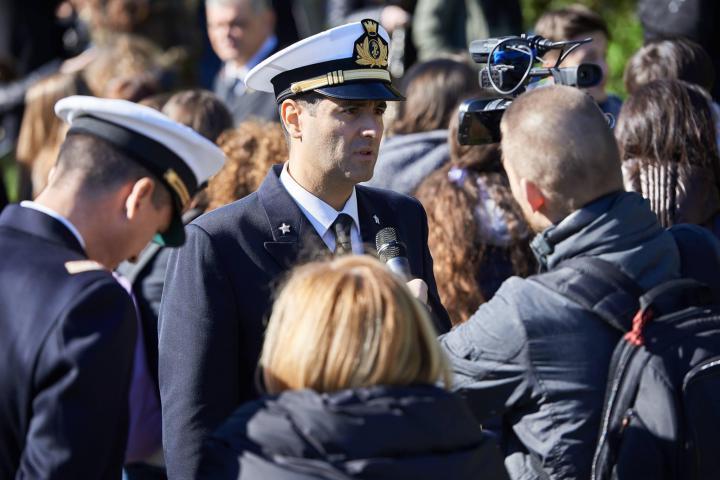Il Comandante della Guardia Costiera Antonio Miniero