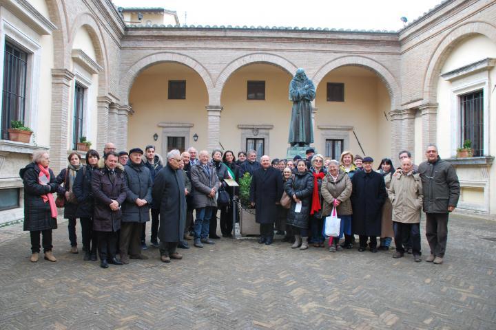 L'inaugurazione del Giardino dei Giusti di Assisi