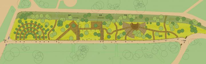 Planimetria del progetto