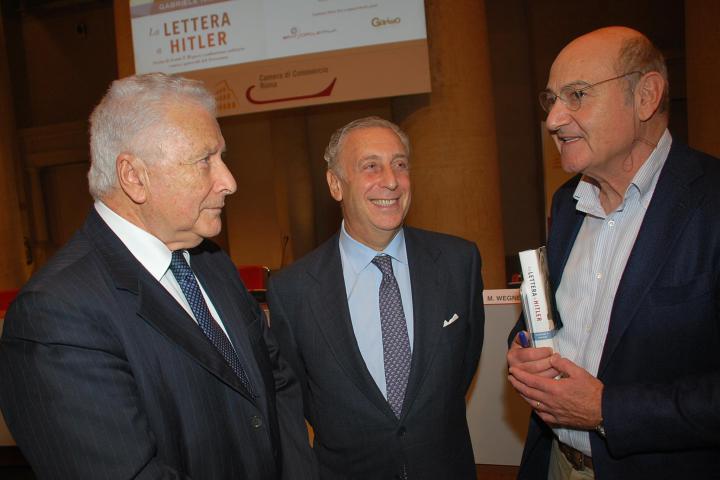 Renzo Gattegna e Gabriele Nissim