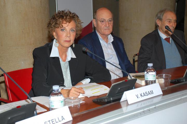 Viviana Kasam e Gabriele Nissim