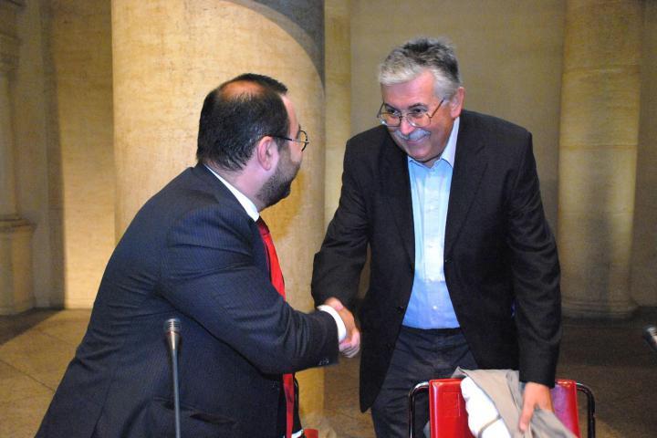 Sargis Ghazaryan e Gian Antonio Stella