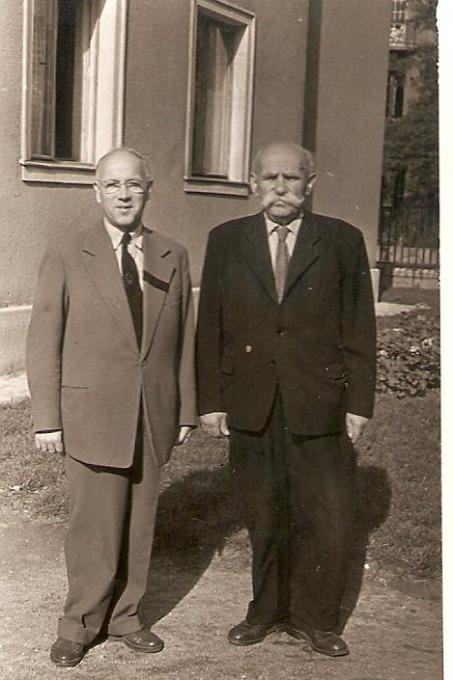 Emanuel con il figlio Josef