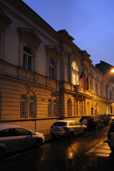 L'edificio della vecchia ambasciata cecoslovacca