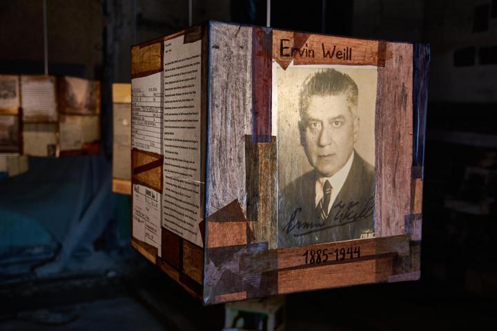Ervin Weill, scrittore, autore anche di una biografia di Greta Garbo