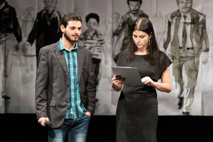 Lorenzo Randazzo e la presentatrice Alice Farella