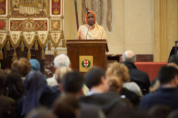 Rappresentante della Comunità Sudanese