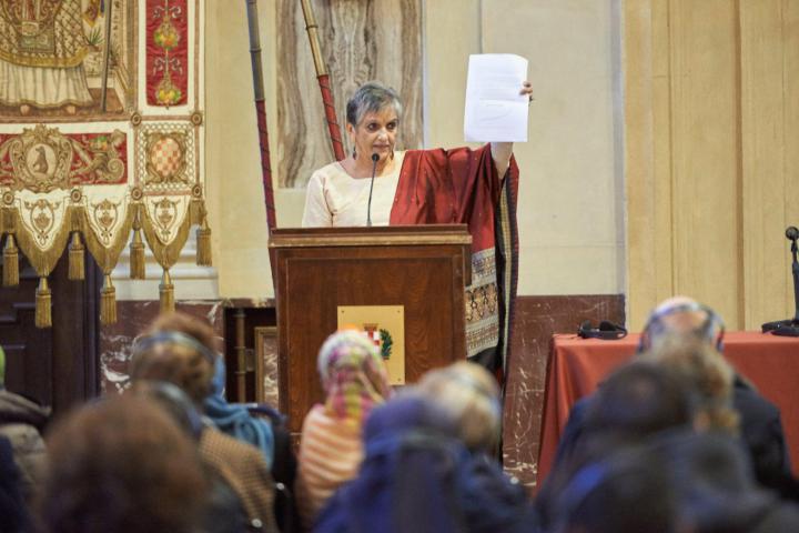 Flavia Agnes, avvocatessa indiana e attivista per i diritti delle donne