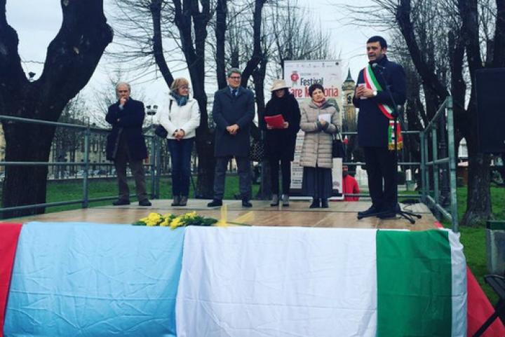 Cerimonia di proclamazione dei Giusti 2016 a Orzinuovi