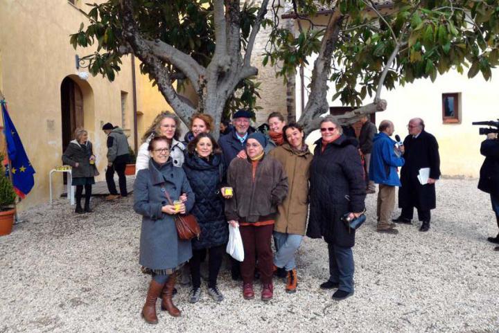 Inaugurazione del Giardino dei Giusti di Perugia