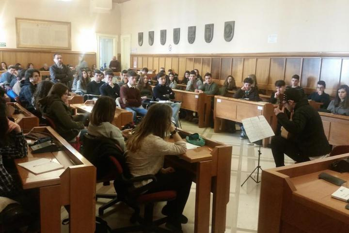 Cerimonia per la Giornata Europea dei Giusti a Benevento