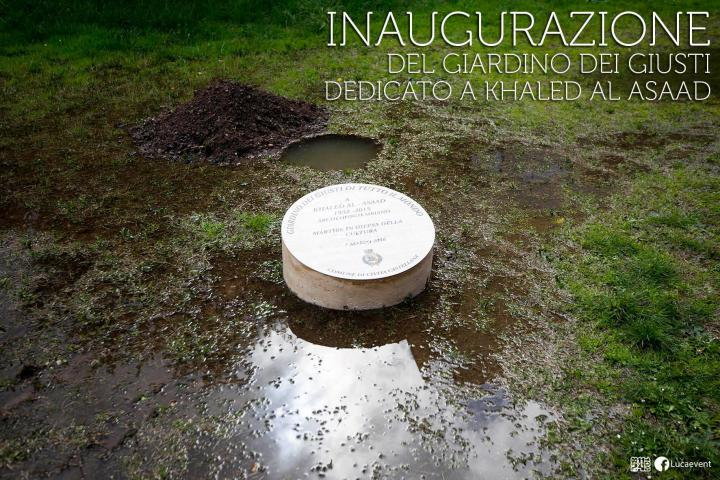 Inaugurazione del Giardino dedicato a Khaled al-Asaad a Civita Castellana