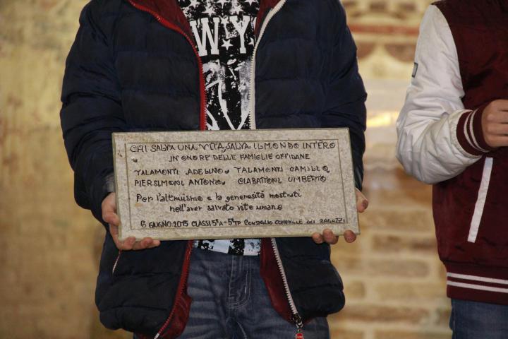 Giornata Europea dei Giusti a Offida (AP)