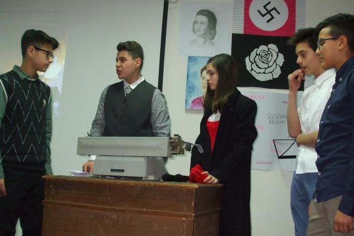 Giornata dei Giusti all'I.C. Rita Levi Montalcini di Spezzano Albanese